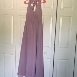 Alfred Angelo Lavender prom dress